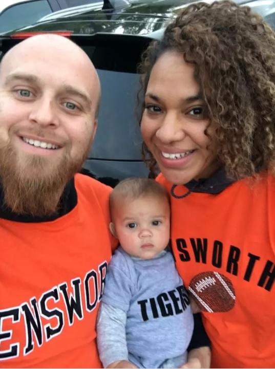 Ryan, Raniece, and Maya Dalton