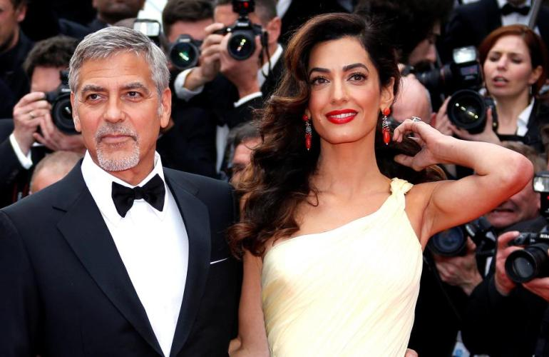 george and amal clooney syrian refugees