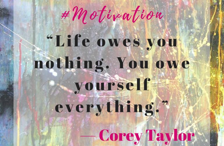 Corey Taylor Monday Motivation