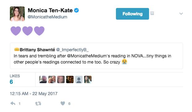 monica the medium tweet