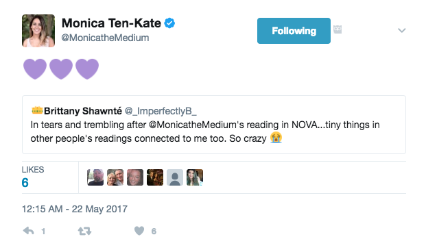 monica the medium tweet