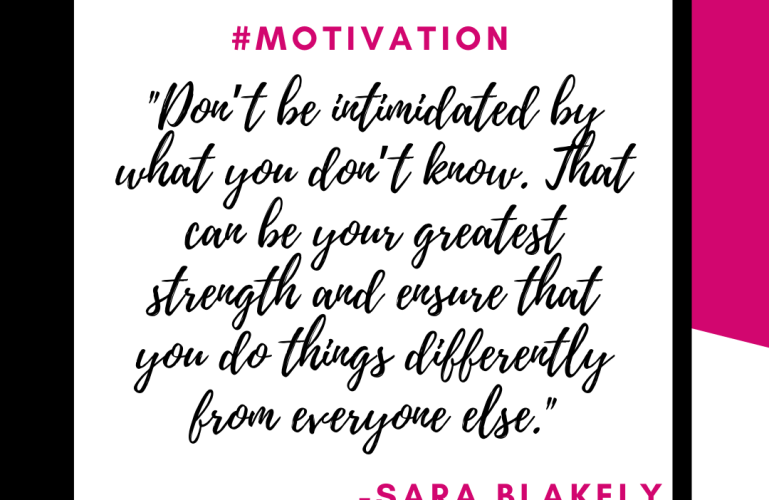 Monday Motivation Sara Blakely